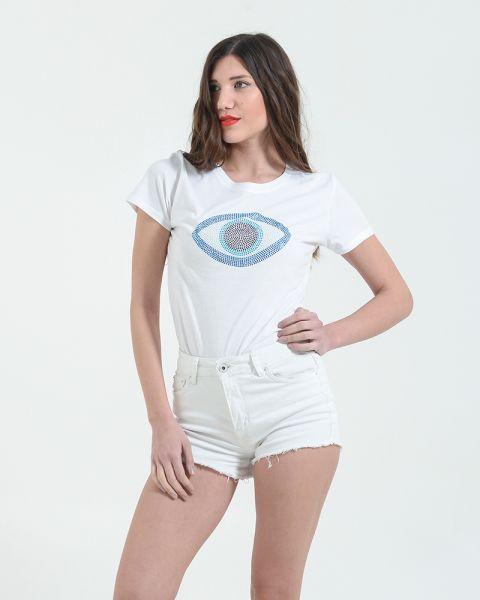 Μπλουζάκι Mε Tύπωμα Strass