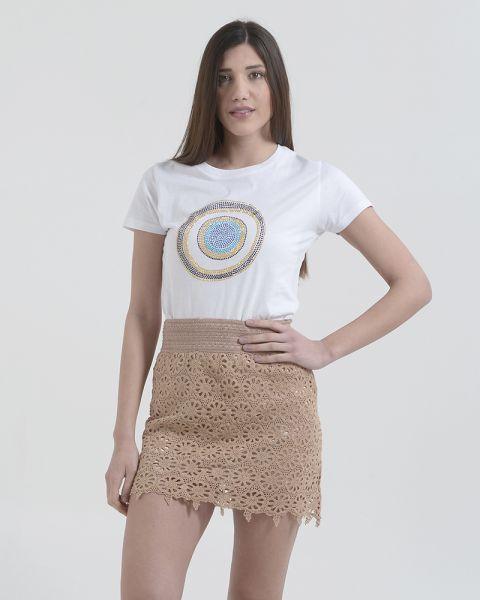 Φούστα Mini Crochet