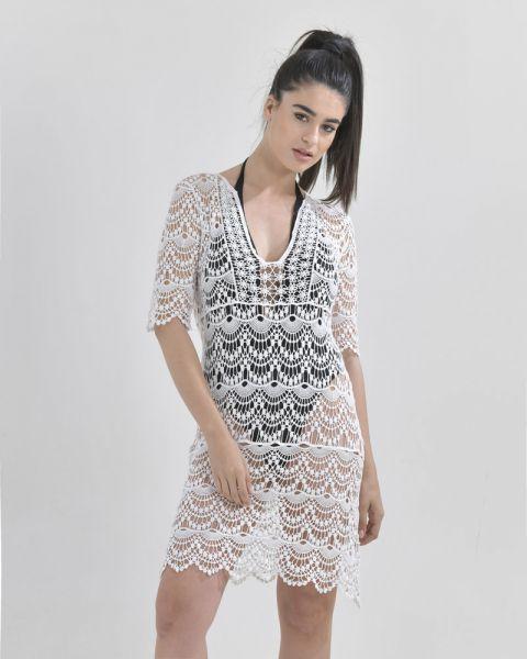 Φόρεμα Δαντελωτό
