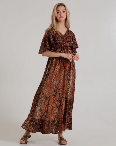 Μακρύ Φόρεμα Εμπριμέ
