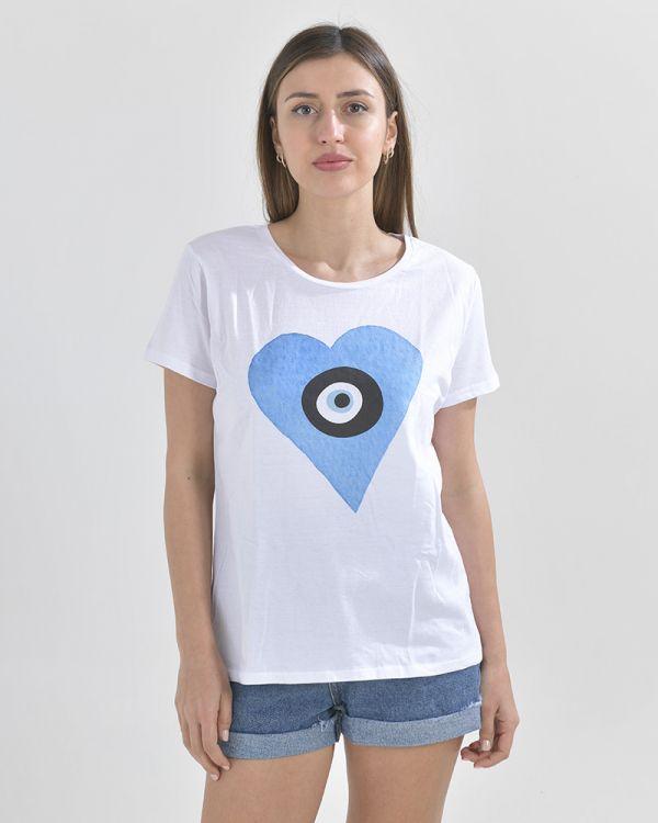 Μπλουζάκι Με  Μάτι