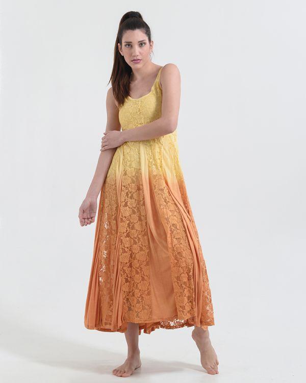 Φόρεμα Μaxi Ντεγκραντέ