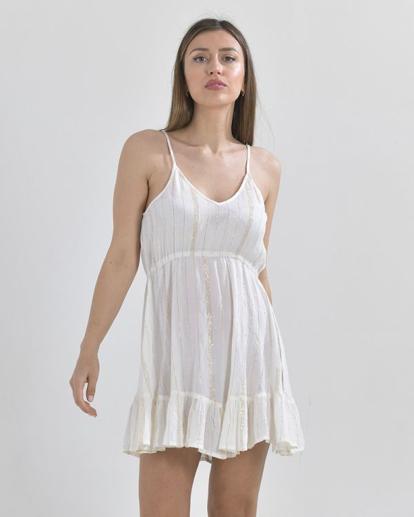Φόρεμα Mini Με Lurex