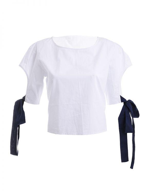 Μπλουζάκι Με Κορδέλα