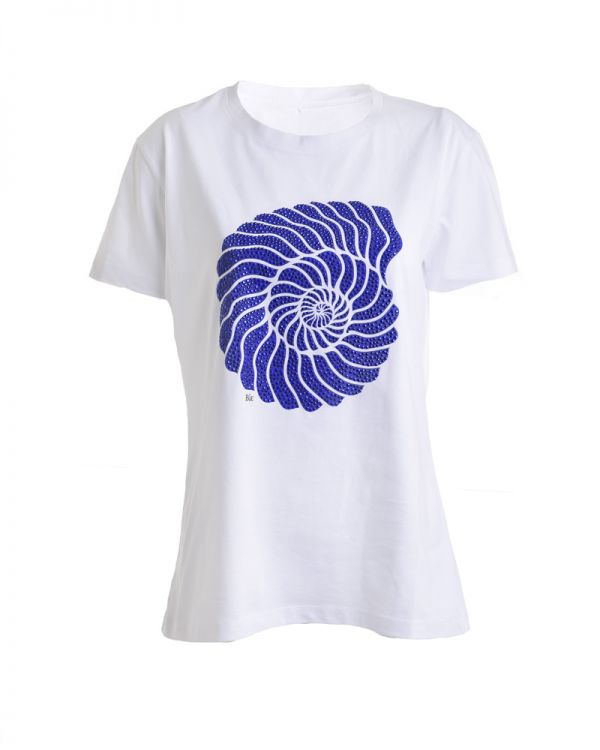 T-Shirt Με Τύπωμα Κοχύλι