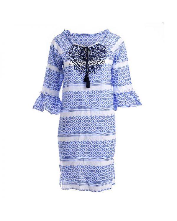 Καφτάνι/Φόρεμα Με Σχέδια