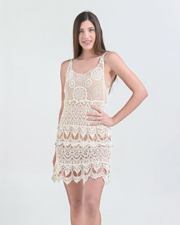 Φόρεμα/Καφτάνι Με Δαντέλα
