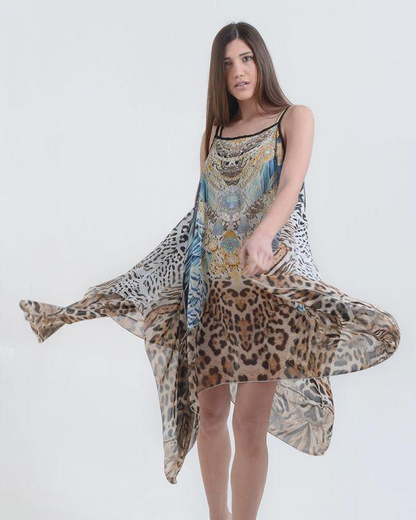 Καφτάνι/Φόρεμα Αnimal Print