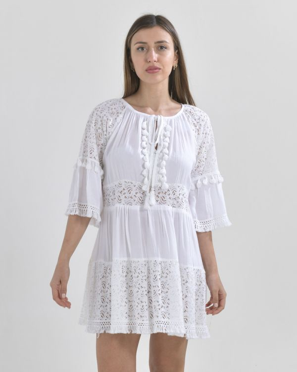 Φόρεμα Με Δαντέλα