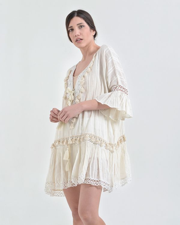 Φόρεμα Σε Ριχτή Γραμμή