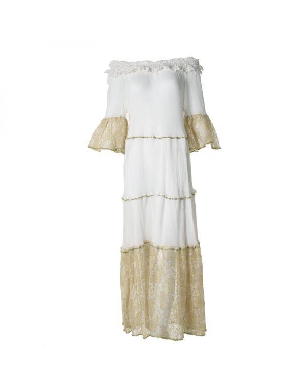 Φόρεμα Off Shoulder Maxi