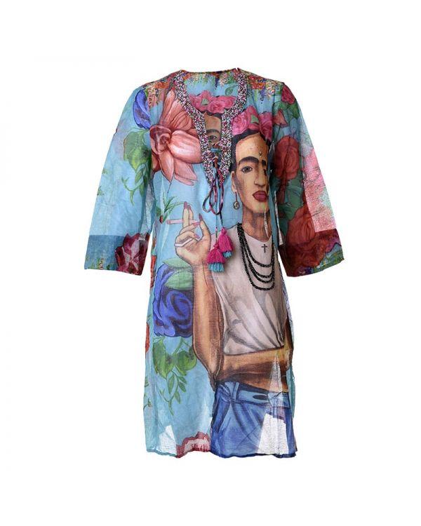 Καφτάνι Μακρυμάνικο Frida