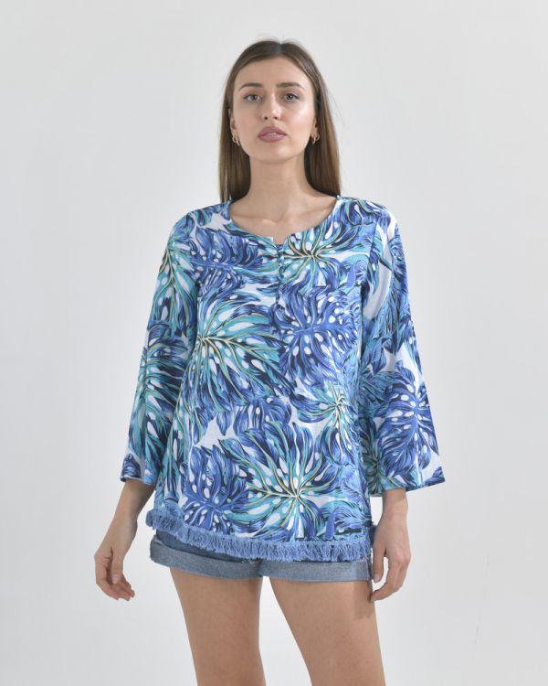 Μπλούζα Tropical Print
