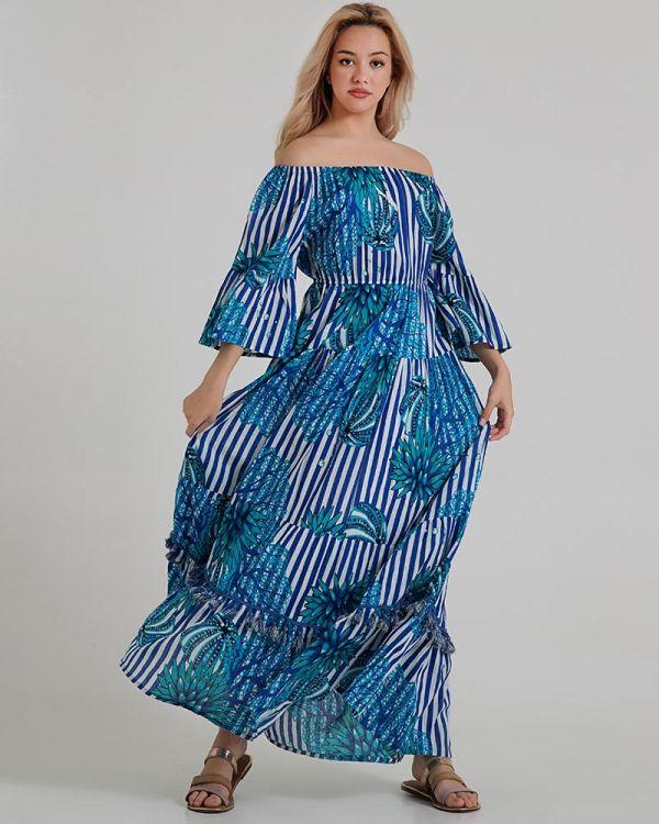 Φόρεμα Maxi Floral Print