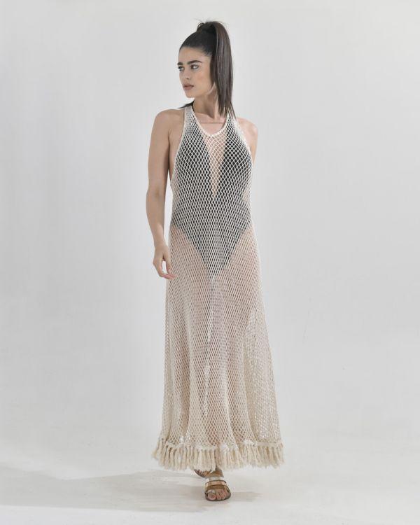 Φόρεμα Μακρύ Δίχτυ