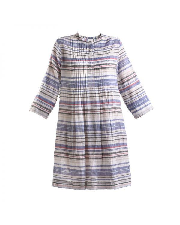 Φόρεμα Βαμβακερό Ριγέ