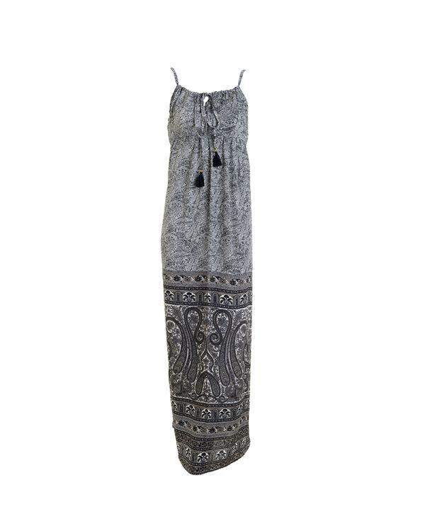 Φόρεμα Μaxi Mε Δέσιμο Μπροστά