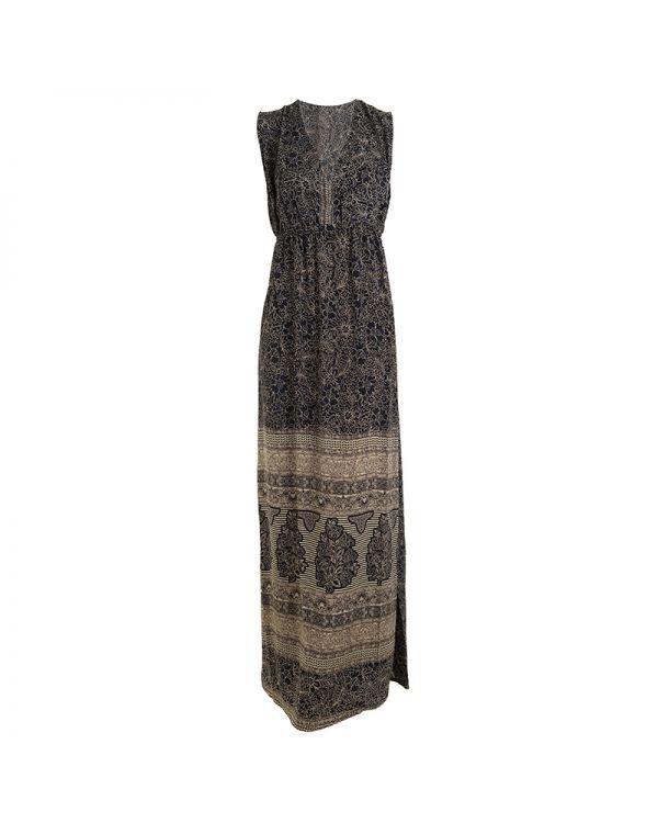 Φόρεμα Ethnic Maxi Αμάνικο