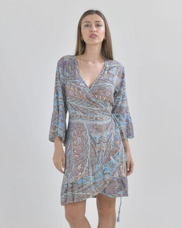 Φόρεμα - Κιμονό Εμπριμέ
