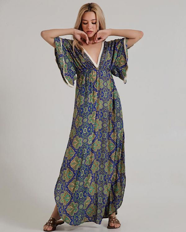Φόρεμα Μακρύ Εμπριμέ