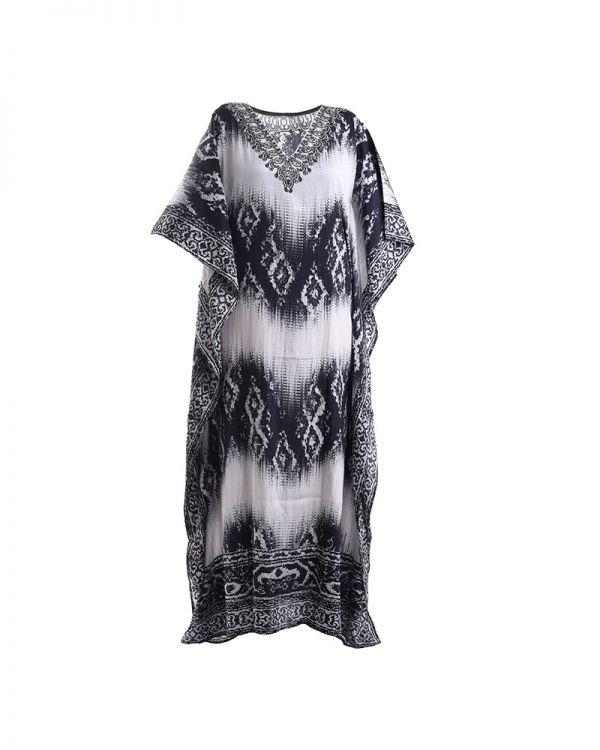 Φόρεμα/Καφτάνι Maxi Εμπριμέ