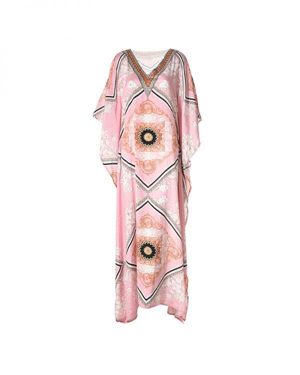 Φόρεμα/Καφτάνι Maxi Γεωμετρικό