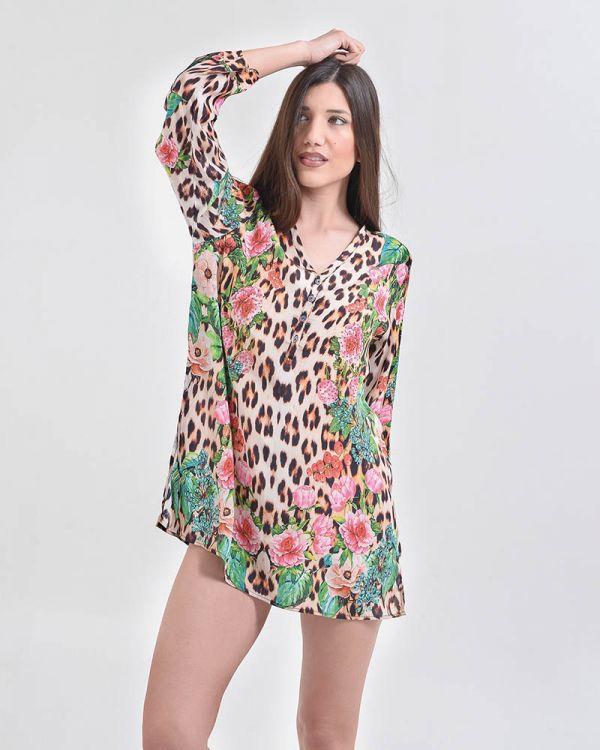 Φόρεμα/Καφτάνι Αnimal Print