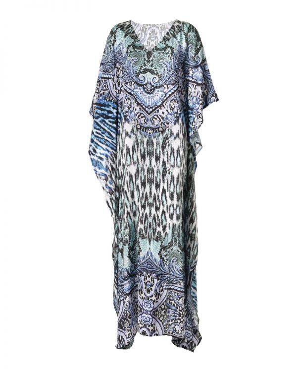 Φόρεμα/Καφτάνι Μaxi Εμπριμέ