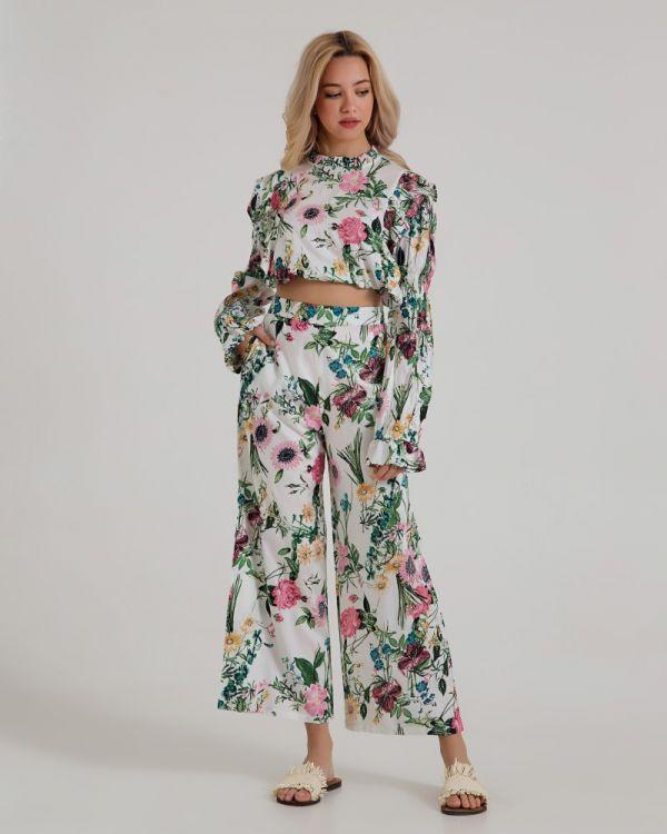 Παντελόνα Floral