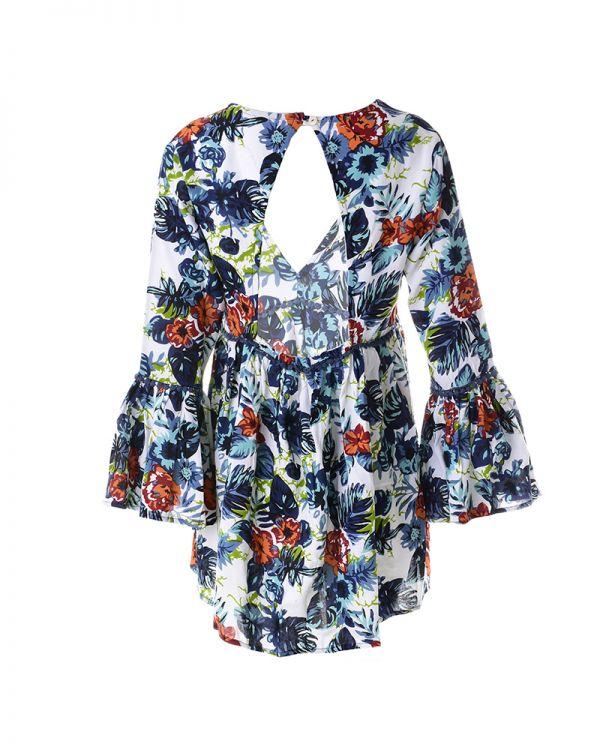 Φόρεμα Με Άνοιγμα Στη Πλάτη