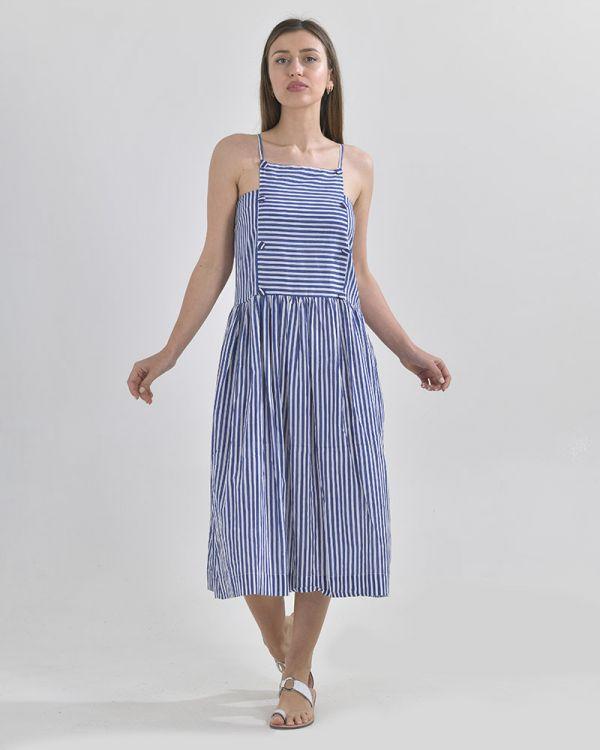 Φόρεμα Midi Με Τιράντα