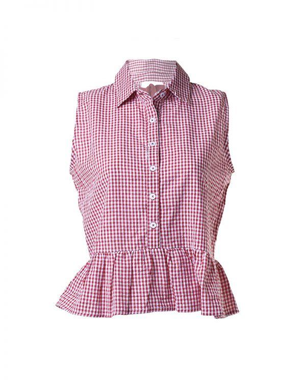 Μπλουζάκι/Πουκάμισο Καρό