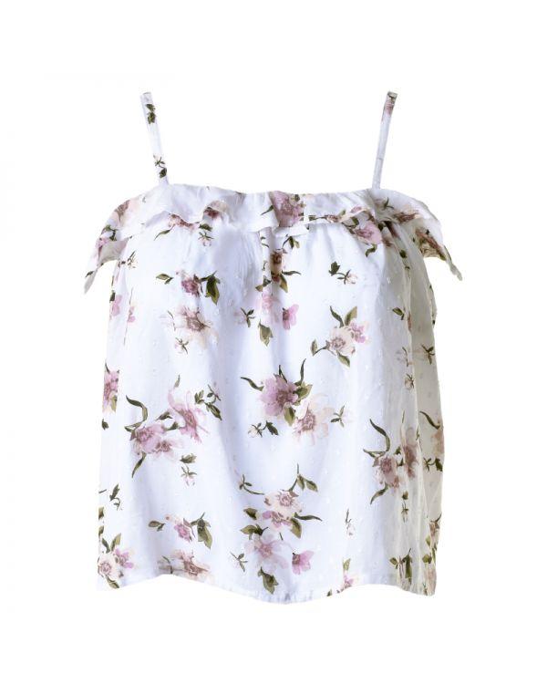 Μπλουζάκι Με Τιράντα Floral