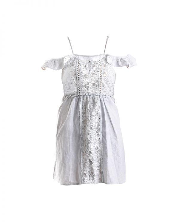 Φόρεμα Με Ανοιχτούς Ώμους