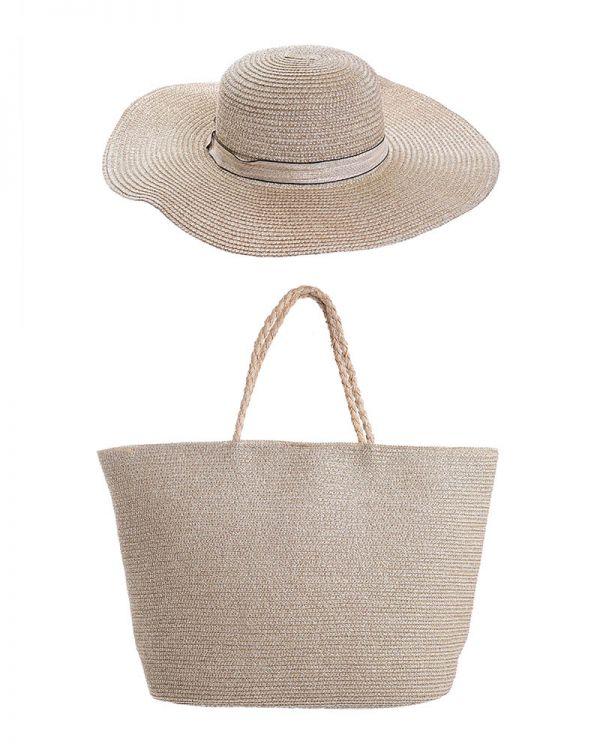 Τσάντα/Καπέλο Σετ
