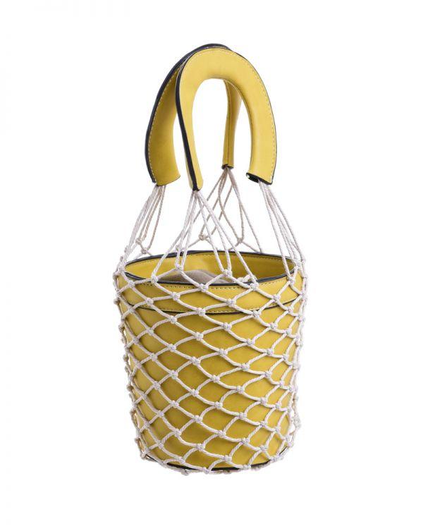 Τσάντα/Πουγκί Με Δίχτυ