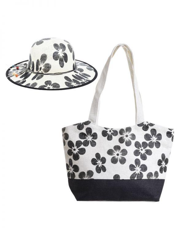 Τσάντα Ψάθινη/Καπέλο