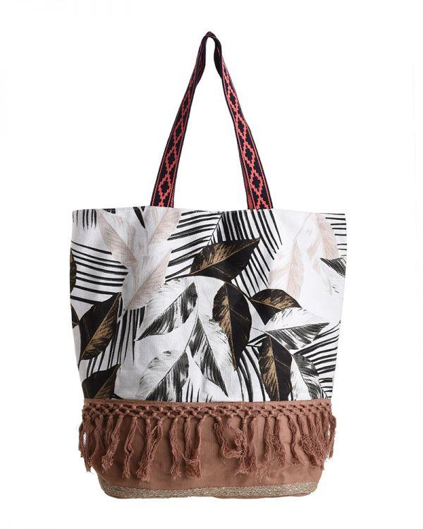 Τσάντα Υφασμάτινη Floral