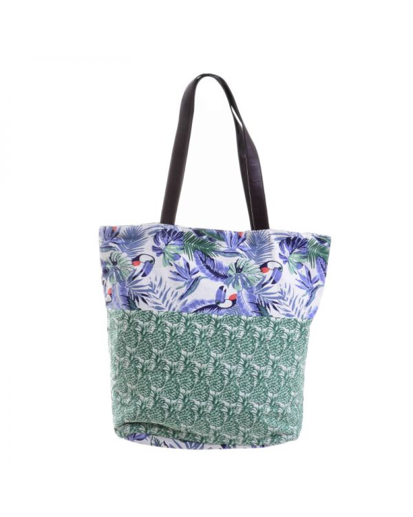 Τσάντα Υφασμάτινη Mε Prints