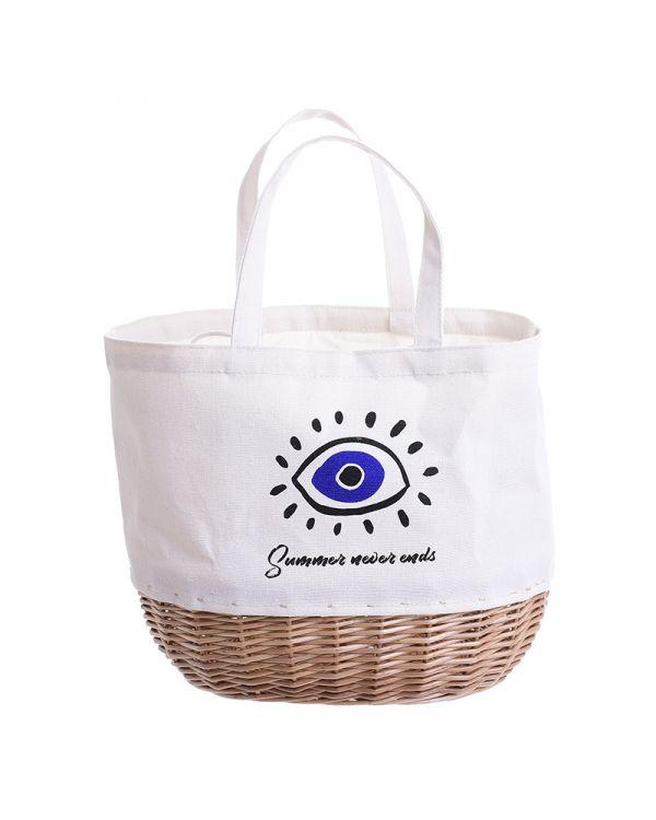 Τσάντα/Καλάθι Evil Eye
