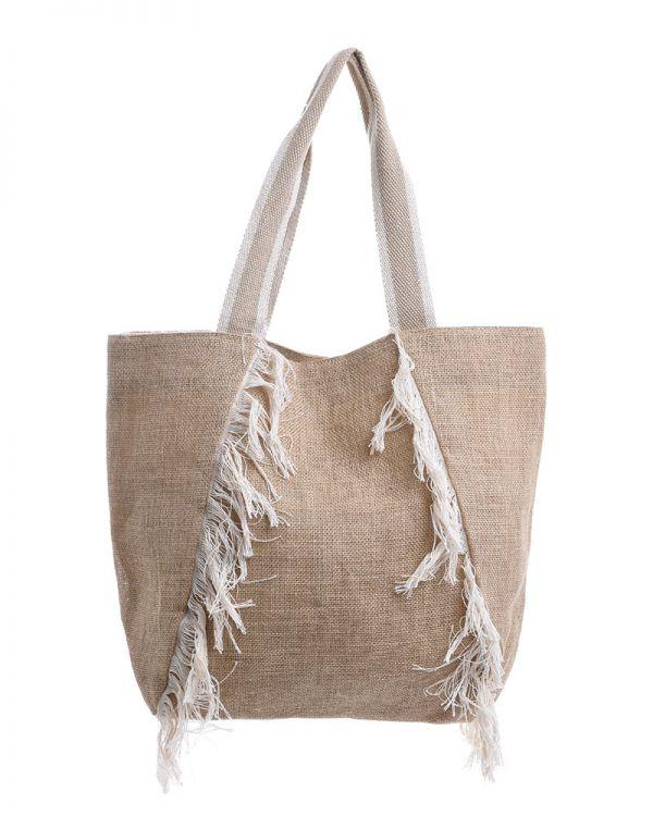Τσάντα Ψάθινη Shopper