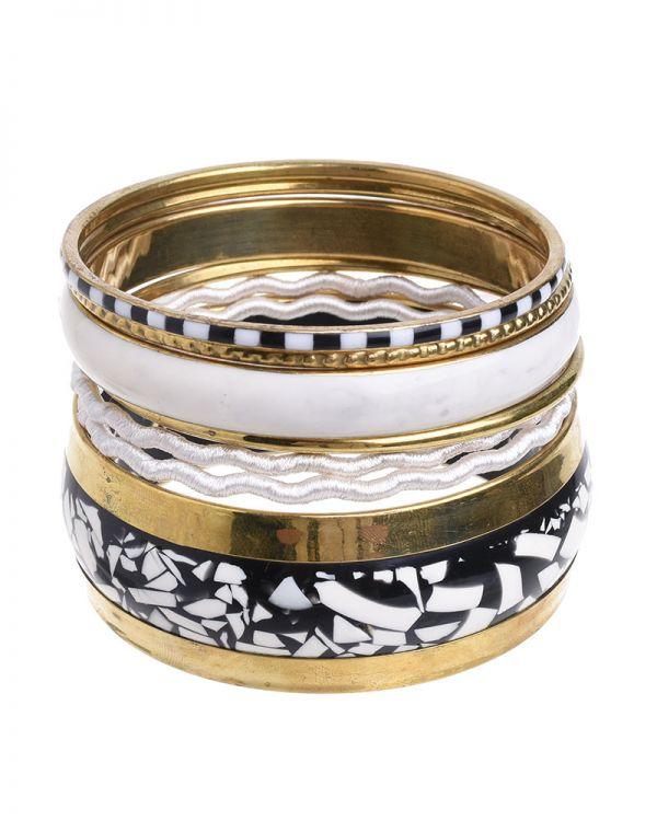 Marble Bracelet set of 7
