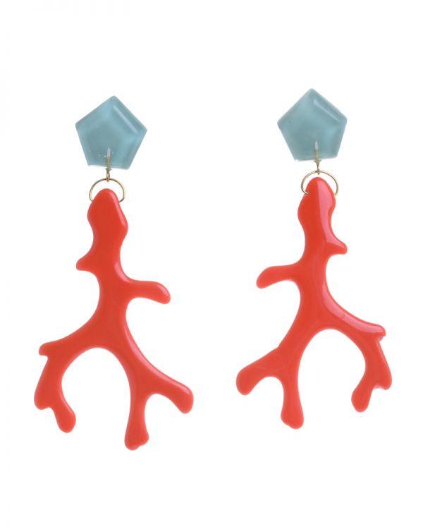 Σκουλαρίκια Κοράλλια