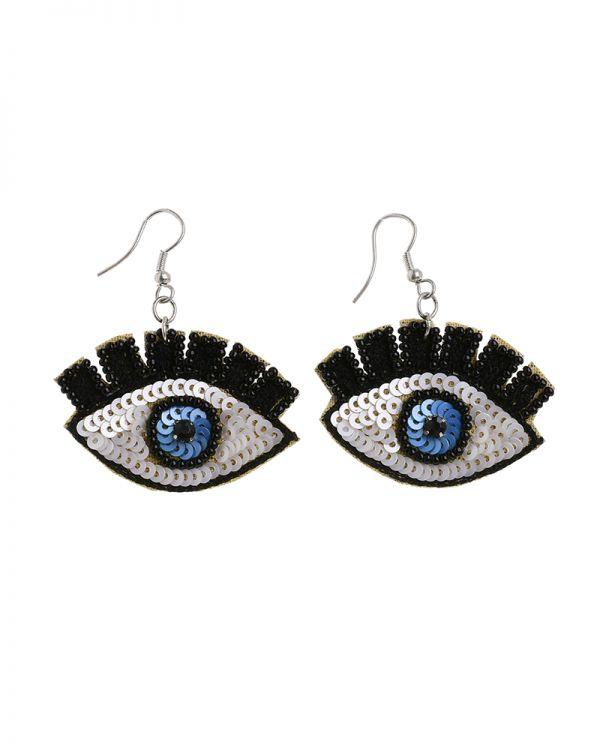 Σκουλαρίκια Εvil Eye