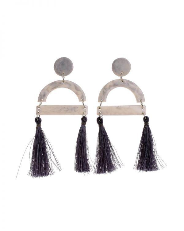 Σκουλαρίκια Με Φούντες