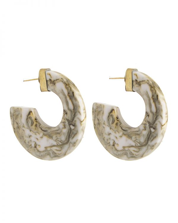 Σκουλαρίκια Marble