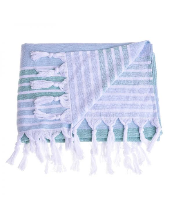 Πετσέτα Θαλάσσης Με Κρόσσια
