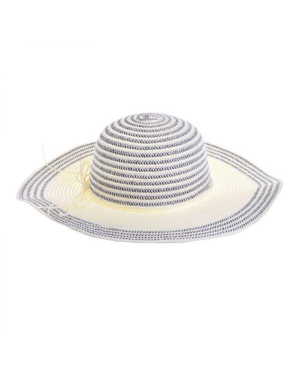 Καπέλο Ψάθινο Ριγέ
