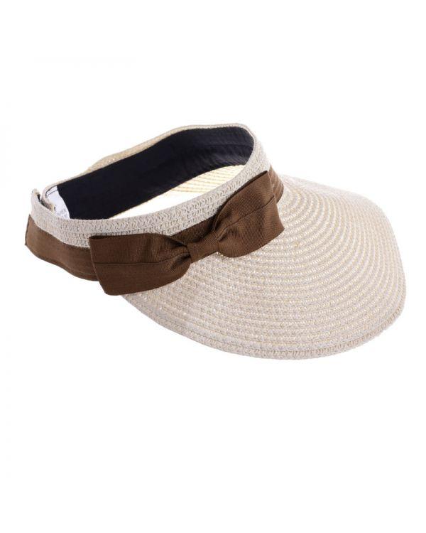 Καπέλο Ψάθινο Ανοιχτό