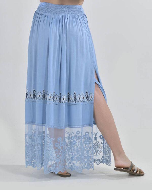 Φούστα Μaxi Με Κεντήματα